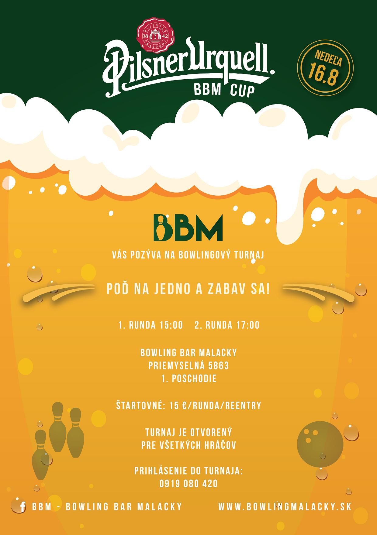 Pilsner Urquell BBM cup